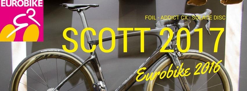 SCOTT 2017 EUROBIKE