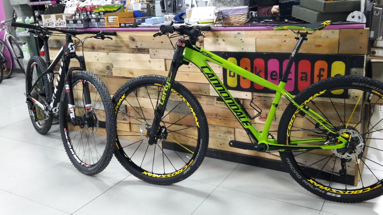 scott scale cannondale fsi